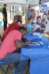 Dwayne Allen was excited to sign autographs for fans that came out to the event.
