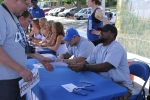 Kavell Conner signs autographs for fans