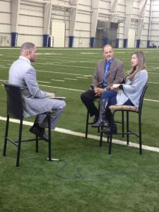 Chuck and Tina Pagano discuss what they've dealt with over the last four months with WISH-TV's Anthony Calhoun. The Pagano's sat down with the four local televisions on Thursday afternoon.