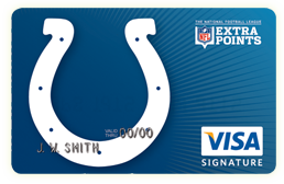 Find out why Colts Fans love the Colts Extra Points Credit Card!