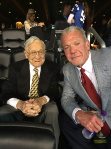 Ted Marchibroda and Jim Irsay